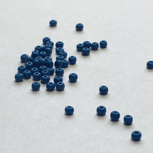 Load image into Gallery viewer, Preciosa 12/0 033210 Opaque Teal Blue Seed Beads, 5 gm