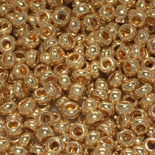 Load image into Gallery viewer, 11/0 Shades of Gold Seed Beads 5 gm