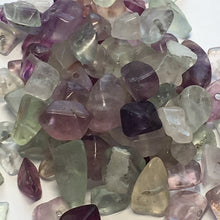 Load image into Gallery viewer, Amethyst Semi-Precious Stone Chip Beads, 55 grams