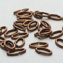 Load image into Gallery viewer, Copper Chain Links, 6 x 3 mm, 20 or 25 Links