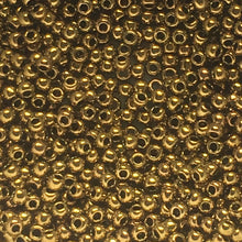 Load image into Gallery viewer, TOHO TR-11-223  11/0 Antique Metallic Bronze Seed Beads, 5 or 10 gm