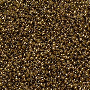 TOHO TR-11-223  11/0 Antique Metallic Bronze Seed Beads, 5 or 10 gm