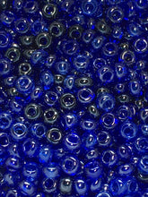 Load image into Gallery viewer, 10/0 Sapphire Luster Mix Czech Seed Beads, 5 gm