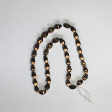 Load image into Gallery viewer, Czech Metallic Dark Bronze Faceted Bicone Glass Beads, 10 x 7 mm - 38 Beads