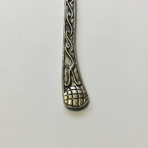 Antique Silver Bookmark Blank, Scroll Theme, 124 mm