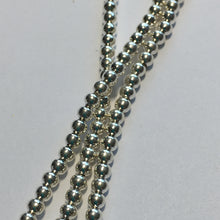 Load image into Gallery viewer, Bead Gallery Silver Plated Round Spacer Beads, 3 x 2 mm -  180 Beads