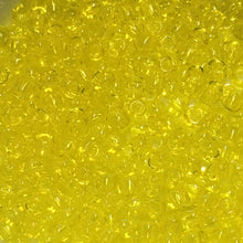 Load image into Gallery viewer, TOHO TR-11-12  11/0 Transparent Citrine Yellow Seed Beads, 5 gm