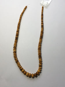 Golden Yellow Jasper Semi-Precious Stone 3-10 mm Rondelles, Ready to Make Necklace Beads, 16-Inch Strand