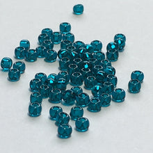 Load image into Gallery viewer, TOHO TR-11-7BD  11/0 Transparent Blue Zircon Seed Beads, 5 gm