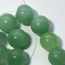 Load image into Gallery viewer, Milky Aquamarine/Amazonite Semi-Precious Stone Round Beads, 10 mm - 30 Beads