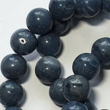 Load image into Gallery viewer, Dumortierite Blue Round Semi-Precious Stone  Beads 7 mm, 16-Inch Strand, 54 Beads