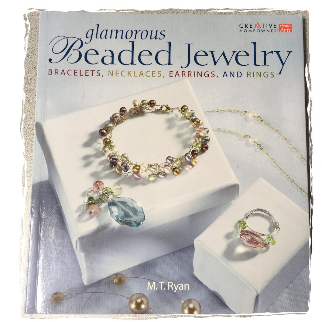 Glamorous Beaded Jewelry, Book by M.T. Ryan