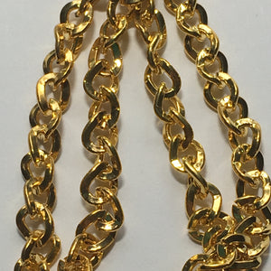 Bead Gallery Gold Plated Chain, 5 x 6 Links - 48 Inches