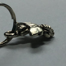 Load image into Gallery viewer, Antique Silver 3D Bee Charm, 12 x 10 mm