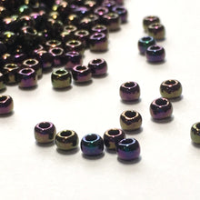 Load image into Gallery viewer, TOHO TR-11-85  11/0 Purple Iris Metallic Seed Beads, 5 gm