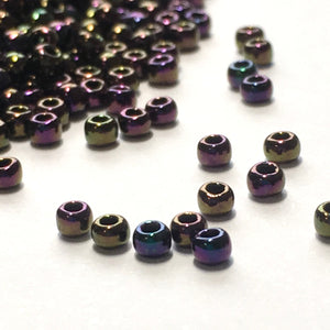 TOHO TR-11-85  11/0 Purple Iris Metallic Seed Beads, 5 gm