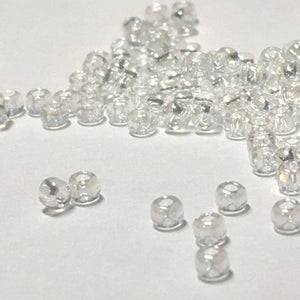 TOHO TR-11-101  11/0 Transparent Luster Crystal Seed Beads, 5 gm