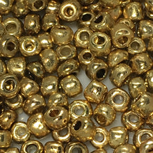 Load image into Gallery viewer, 8/0 Gold Seed Beads, 5 gm