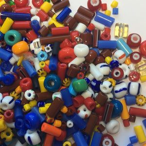 Kids Bead Mix - Various Sizes, Shapes and Types