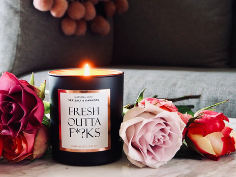 fresh outta f*?ks naomi joy living candle
