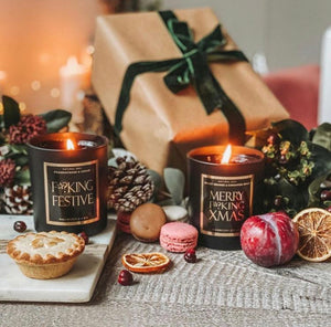 The Purrfect Christmas Candle Set