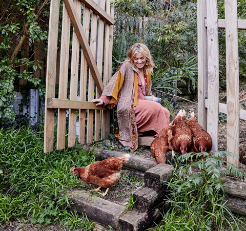Wandering Sol co-founder Zoe Dent at home