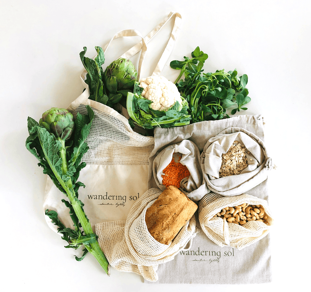 THE MARKET SOL BUNDLE 6 piece reusable produce bag collection- PRE ORDER, DUE FEBRUARY