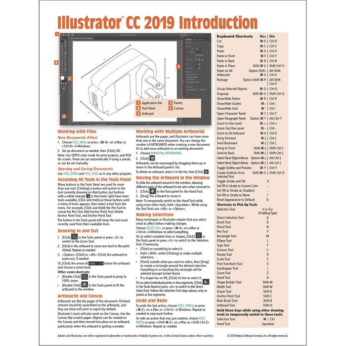 Adobe Illustrator CC 2019 Introduction Quick Reference