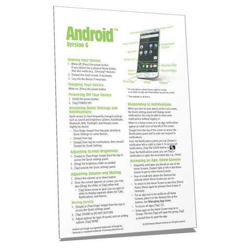 Android Quick Reference Guide ver 6