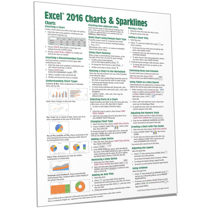 Creating Charts In Excel 2016
