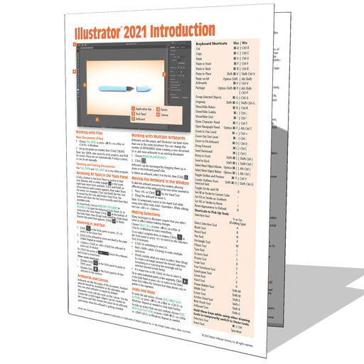 Adobe Illustrator 2021 Introduction Quick Reference