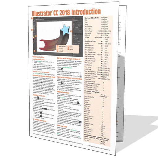 Adobe Illustrator CC 2018 Introduction Quick Reference