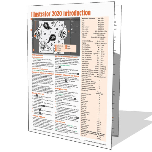 Adobe Illustrator 2020 Introduction Quick Reference