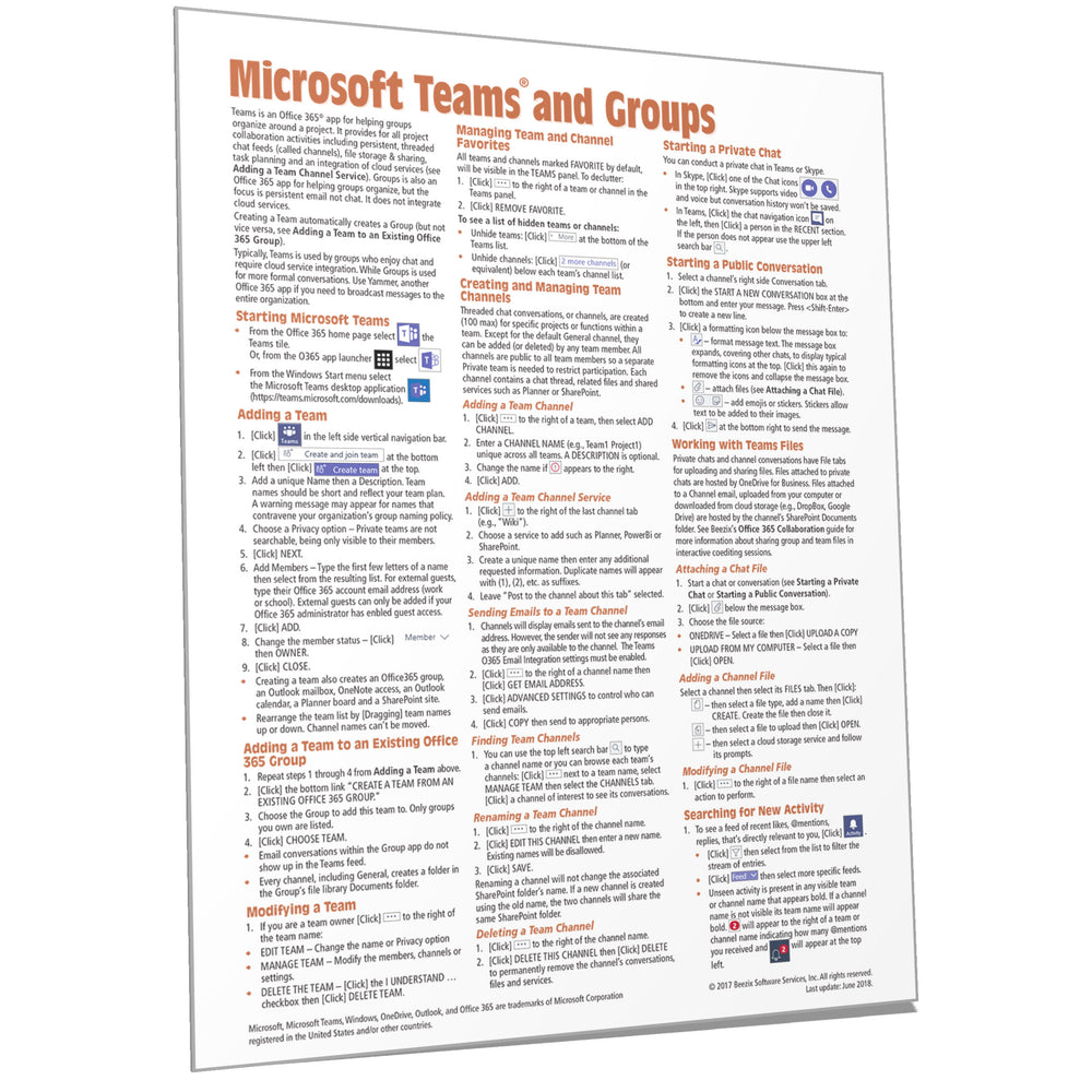 Teams & Groups for Microsoft 365