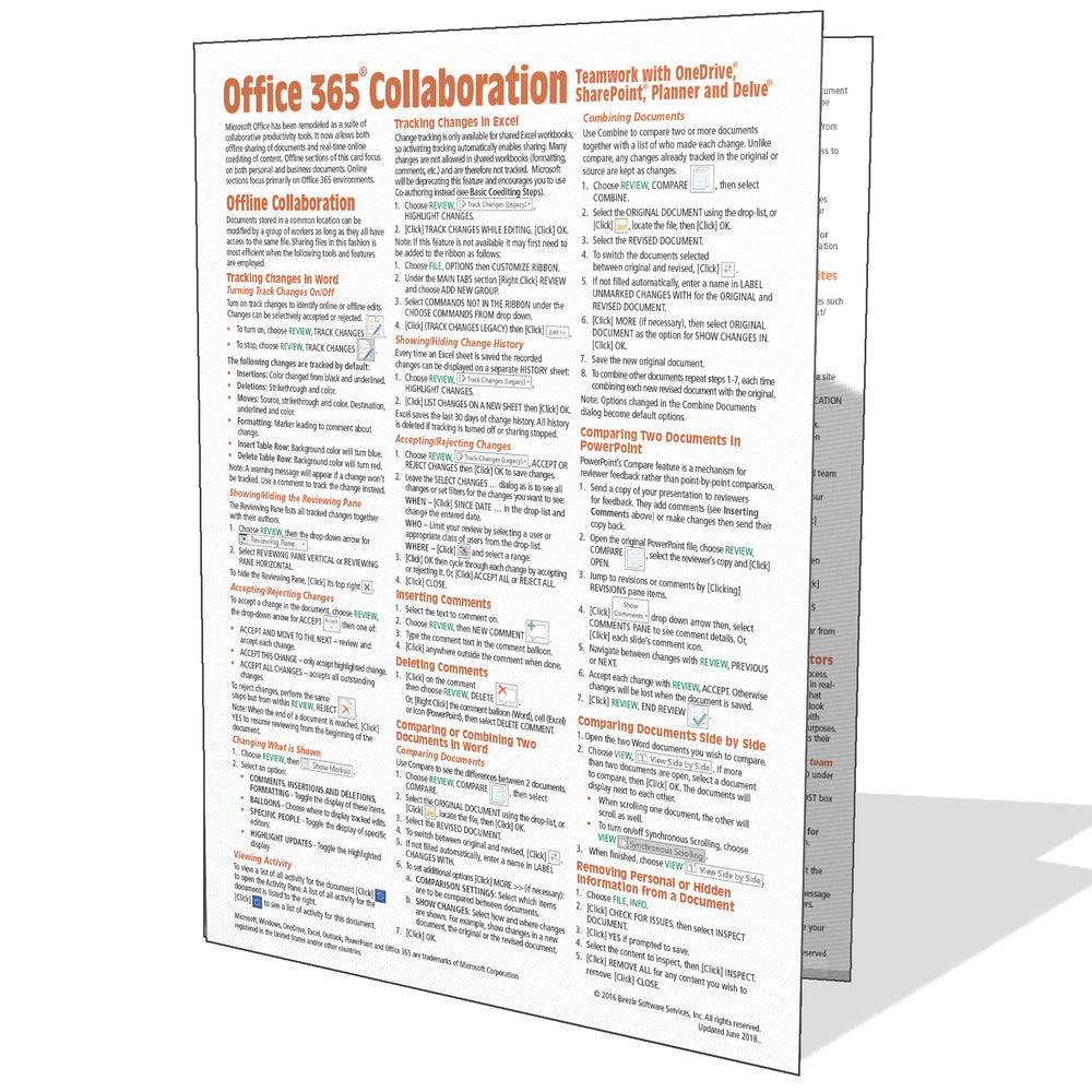 Office 365 Collaboration Quick Reference Guide