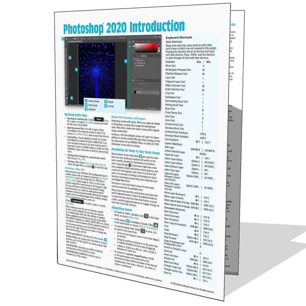 Adobe Photoshop 2020 Introduction