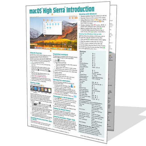 macOS High Sierra Introduction Quick Reference