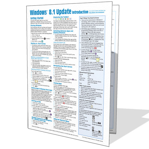 Windows 8.1 Introduction Quick Reference Guide