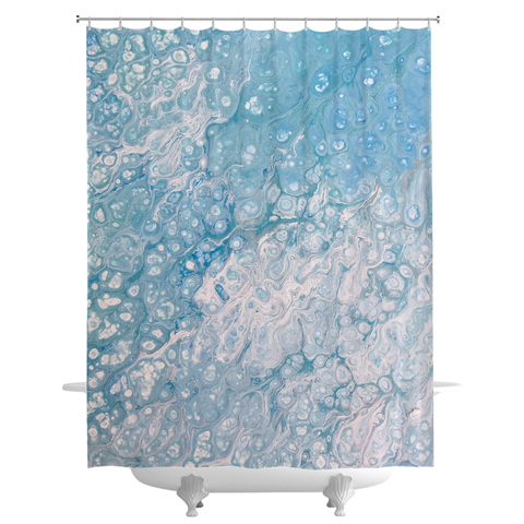 Bubbly Shower Curtain