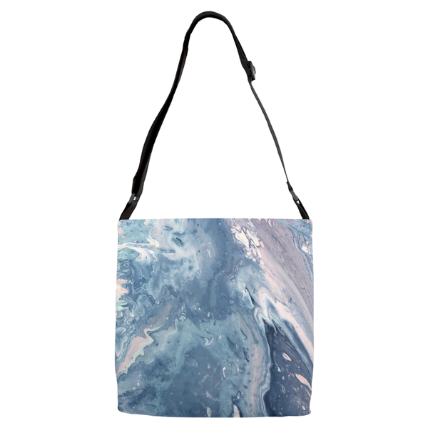 Wavy Adjustable Strap Totes