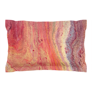 Fiery Pillow Shams
