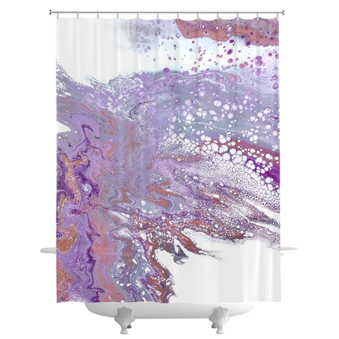 Jazzy Shower Curtain