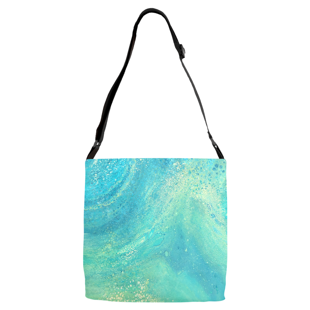 Shimmery Adjustable Strap Totes