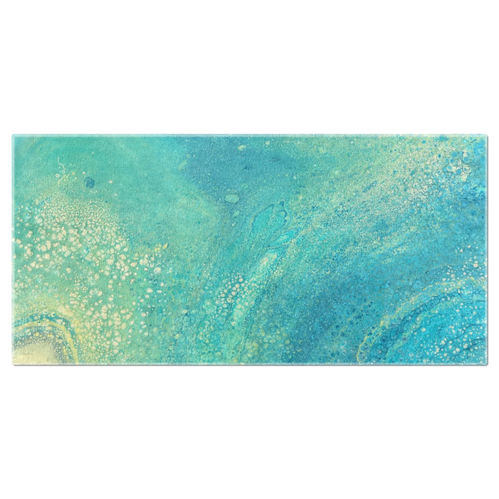 Shimmery Beach Towel