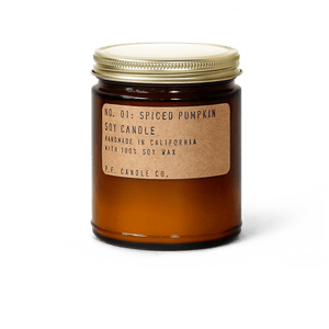 Spiced Pumpkin - 7.2 oz Standard Soy Candle