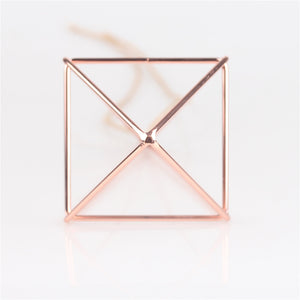 10 inche Hanging Rose Gold Planter