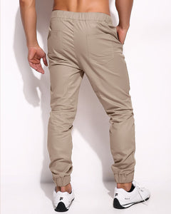 Men's Slim Fit Harem Chinos