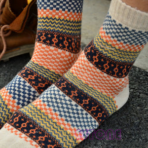 4Pair Mens Soft Wool Socks