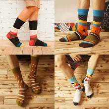 Load image into Gallery viewer, Fun Print Men's Crew Socks