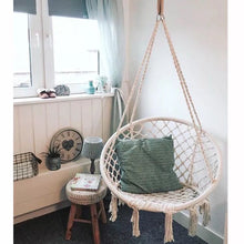 Load image into Gallery viewer, Handmade Knitted Round Hammock